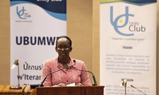 Put Rwandans, Country First -First Lady to Unity Club Members
