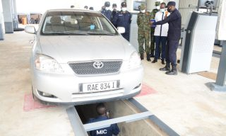 Rwanda National Police Opens New Automobile Inspection Centres