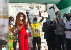 Mugisha Moise Wins Grand Prix Chantal Biya