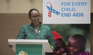 The Fight Against AIDS Can Be Won Through Global Partnerships ─ Mrs. Kagame