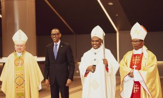 President Kagame Acknowledges Pope Francis' Steps in Building the Church