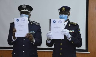 IGP Munyuza in Zambia for Police Bilateral Meeting
