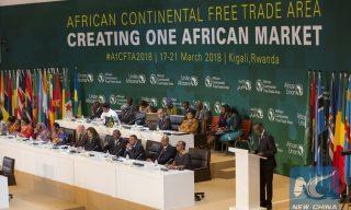 President Kagame Receives AfCFTA Award