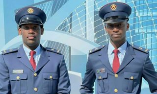 Two RDF Officers Graduate In Aeronautics