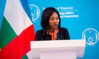 CAR Foreign Minister in Rwanda for Bilateral Talks: Security, Investment High On Agenda