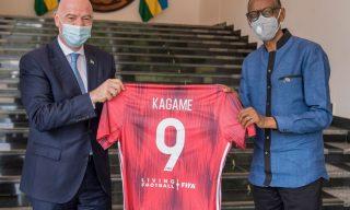 PHOTOS: President Kagame Meets FIFA President Infantino