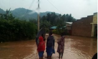 River Sebeya Burst Banks, Displaces Rubavu Residents