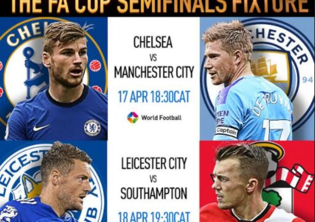 Watch the Emirate FA Cup on StarTimes Man: City Clash with Chelsea for FA Cup Semi Finals