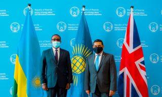 Minister Biruta, UK Commonwealth Minister Discuss CHOGM 2021 Preparations