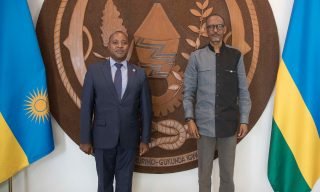 President Kagame, New EAC Secretary General Discuss Regional Issues