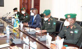 Gen. Kazura, IGP Munyuza in Tanzania to Discuss Security, Strengthen Ties