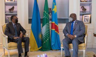 Kagame, Tshisekedi in Two-day Cross-border Visit in Rwanda, DRC