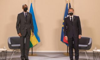 A Busy Day in Paris: President Kagame Meets Macron, Tshisekedi in France