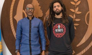 President Kagame Meets J. Cole