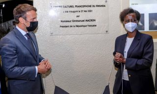 Macron Launches French Cultural Centre in Kigali