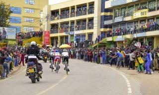 Crowds Fail to Resist Tour du Rwanda Excitement