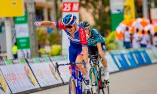 Tour du Rwanda: Valentin Ferron Takes First Professional Win as Brayan Sanchez keeps Yellow Jersey