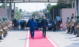Kagame Welcomes Tshisekedi to Rwanda in a Historic Visit