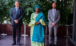 France, UK and Nigeria's Envoys Present Credentials to President Kagame
