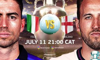 England to Face Italy in Euro 2020 Final, Live on StarTimes
