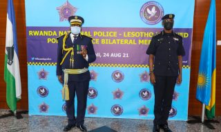 Rwanda, Lesotho Police Institutions Sign Cooperation Pact