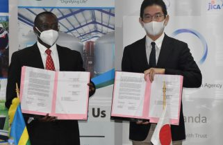 Wasac, JICA Sign An Agreement to Improve Water Supply, Management in Eastern Province