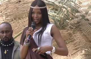 Supermodel Naomi Campbell Falls for Fake News on President Kagame