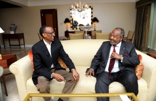 Djibouti President In Rwanda For Talks
