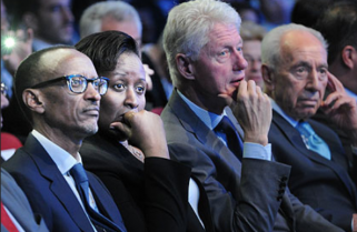 Rwanda Mourns ex-Israel President