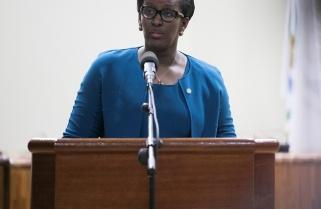 First Lady leaves Rwandan audience in tears