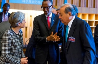 Kagame Weighs in on Global Access to Broadband