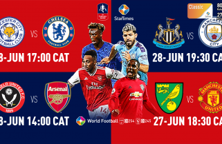 Featured: Watch Emirates FA Cup with StarTimes Only Eight Teams Remaining In FA Cup