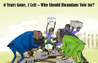 2017 KNOCKING…6 Years Gone, 1 Left – Who Should Rwandans Vote For?