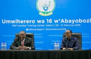 Kenya's President Uhuru Kenyatta Remarks During a Working Visit to Rwanda
