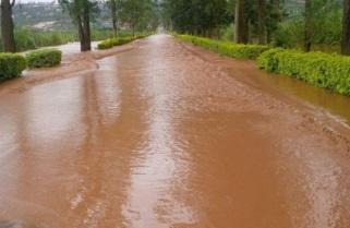 Heavy Downpour Kills Christmas Mood, City Roads Now Impassable