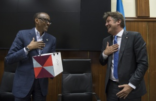 Kagame No Longer Worried by the Future