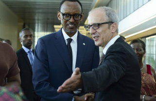 Kagame to Diplomats: 2017 Is Year of Democracy, Cooperation