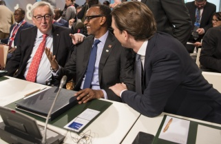 Kagame Seeks Solid Partnership Between Europe and Africa