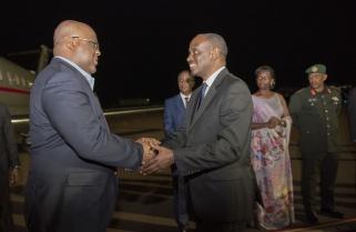 Tshisekedi, Gnassingbé, Sahle-Work Zewde in Rwanda for Africa CEO Forum