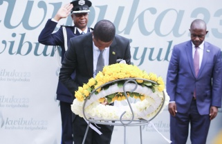 Zambia President Pays Tribute to Genocide Victims