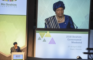 Sirleaf Donates her $5M Ibrahim Prize to Women
