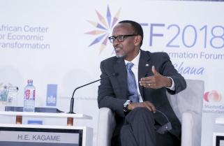 Kagame Shares the Secret to African Transformation