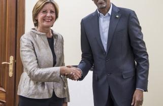 President Kagame Receives Minister-President of Rhineland-Palatinate