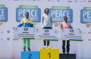 Yankurije Takes Silver in Kigali Women Half Marathon as Kenyans Extend their Dominance