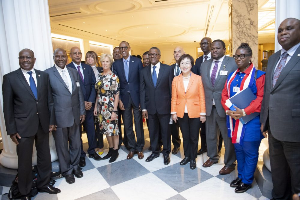 """""""Leave No One Behind"""" -President Kagame on SDG Financing"""