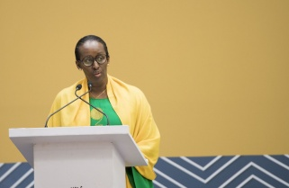 Harness the culture of gratitude – Mrs Kagame