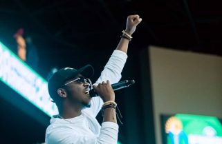 Sentore Throws An Epic Performance at Afrobasket Grand Opening