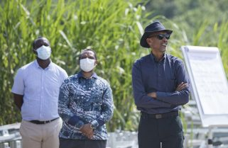 Kagame Visits Disaster Affected Areas