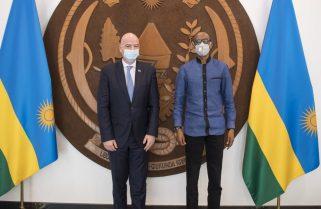Kwibuka 27: FIFA President Infantino Joins Rwandans In Commemoration