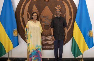 President Kagame, Commonwealth SG Discuss CHOGM 2021 Preps